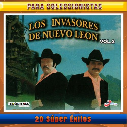 20 Súper Éxitos, Vol. 2 de Los Invasores De Nuevo Leon