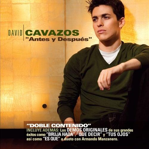 Antes y despues de David Cavazos