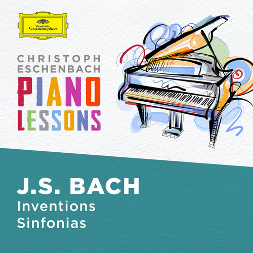Piano Lessons - Bach, J.S.: Inventions and Sinfonias, BWV 772 - 786 & 787- 801 de Christoph Eschenbach