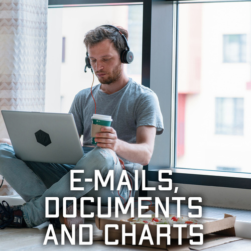 E-mails, Documents and Charts – Light Jazz Music for Home Office de Acoustic Hits