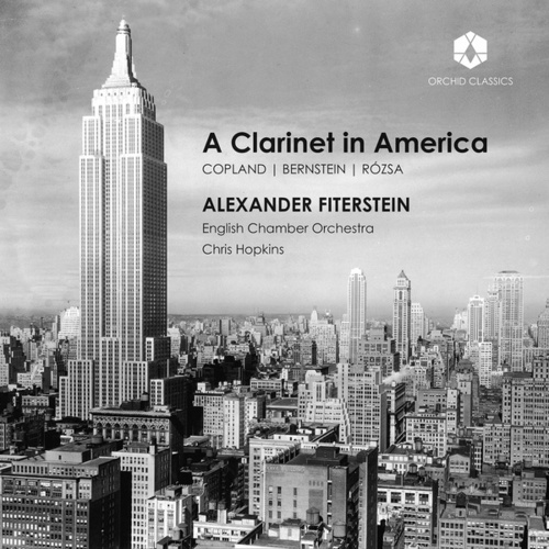 A Clarinet in America by Alexander Fiterstein