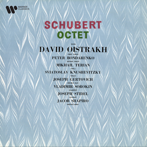 Schubert: Octet in F Major, Op. 166, D. 803 by David Oistrakh