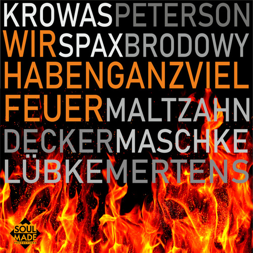 Wir haben ganz viel Feuer (We Didn't Start the Fire) de Michael Krowas