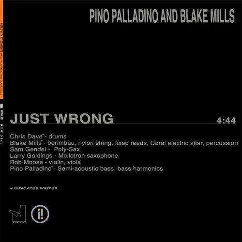 Just Wrong by Pino Palladino