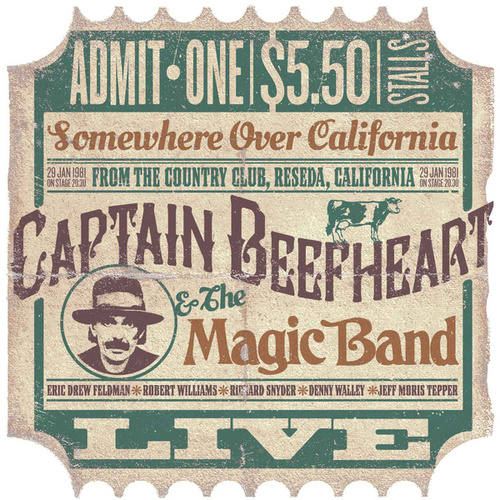 Somewhere Over California (Live from The Country Club, Reseda, California 29/1/1981) by Captain Beefheart