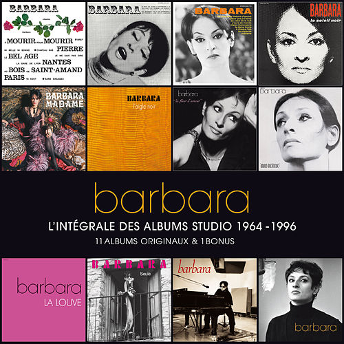 L'Intégrale Des Albums Studio de Barbara