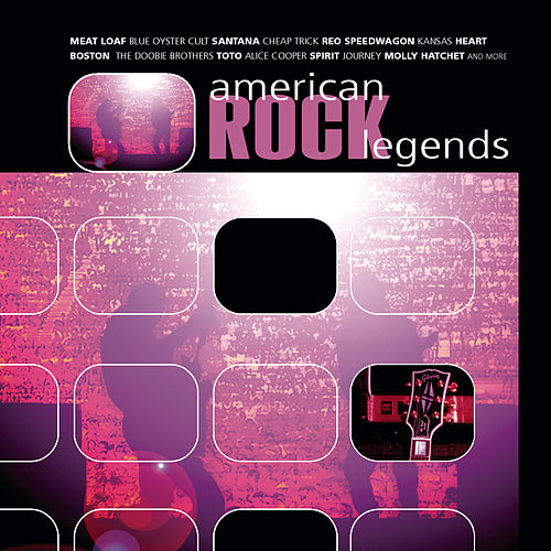 American Rock Legends by Various Artists
