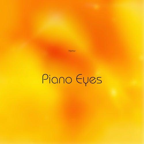 Piano Eyes by Hjortur