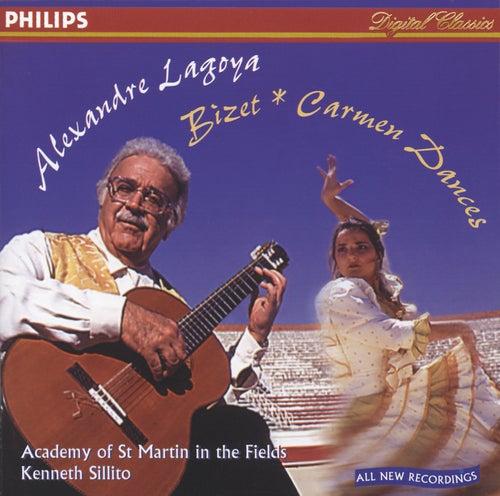 Bizet / Albéniz / Lagoya / Tárrega: Carmen Dances / Asturias / Variations sur 'Jeux interdits' by Alexandre Lagoya