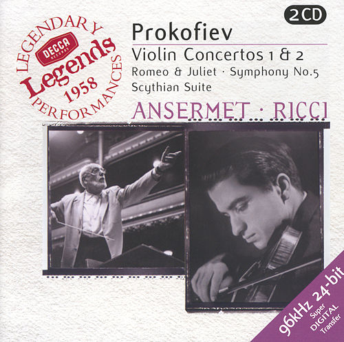 Prokofiev: Violin Concertos Nos.1 & 2; Symphony No.5; Romeo & Juliet etc. von Ruggiero Ricci