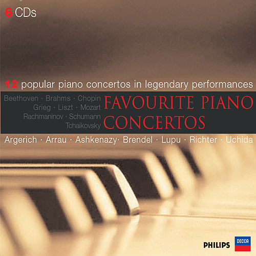 Favourite Piano Concertos di Various Artists