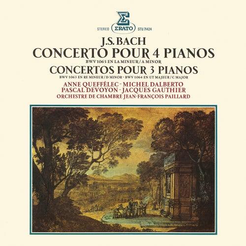 Bach: Concertos pour 3 et 4 pianos, BWV 1063, 1064 & 1065 by Anne Queffélec