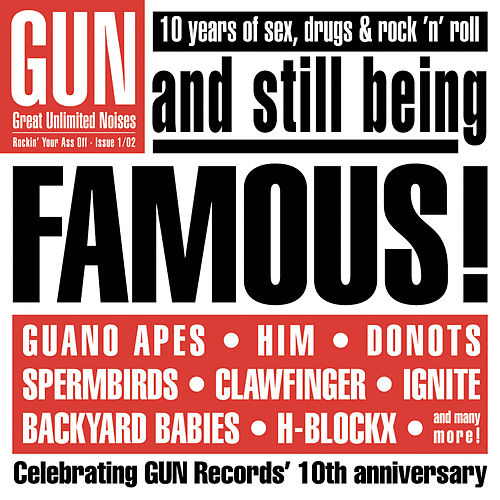 Famous (10 Jahre GUN Supersonic) by Various Artists
