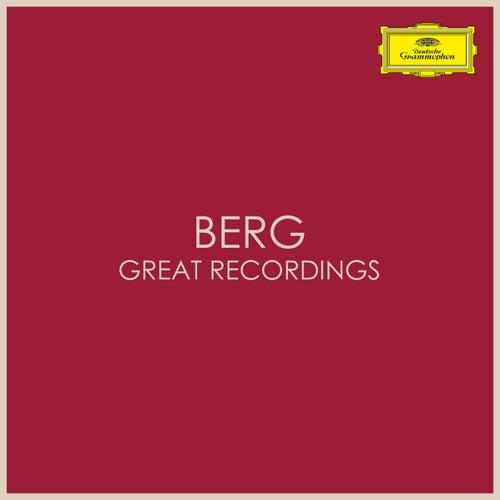 Berg - Great Recordings by Alban Berg