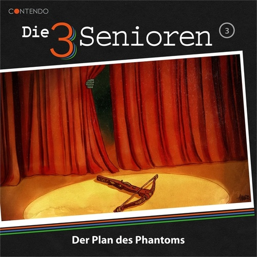 Folge 3: Der Plan des Phantoms von Die 3 Senioren