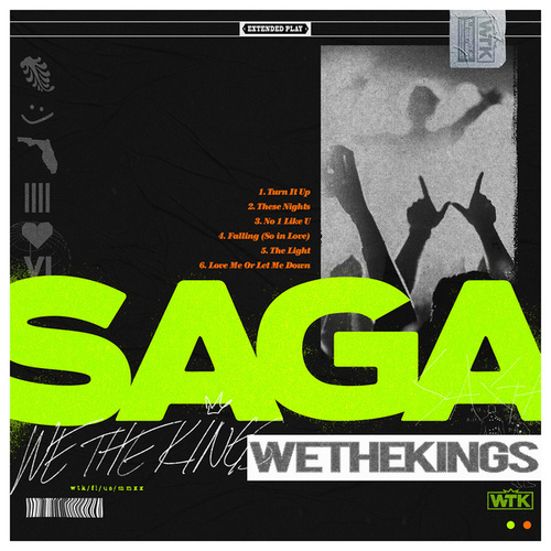 SAGA by We The Kings