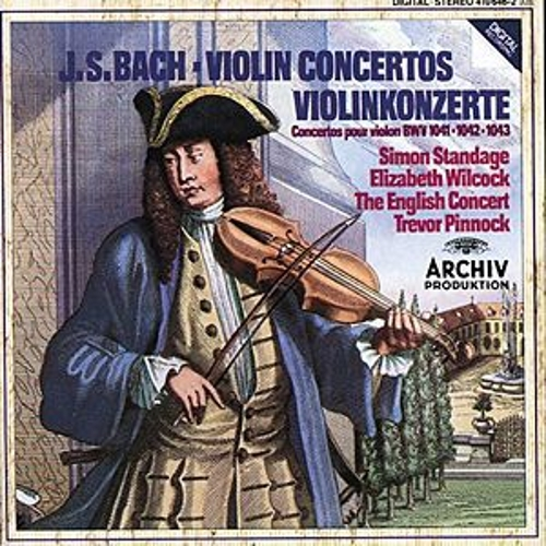 Bach, J.S.: Violin Concertos BWV 1041 & 1042; Double Concerto BWV 1043 by Simon Standage