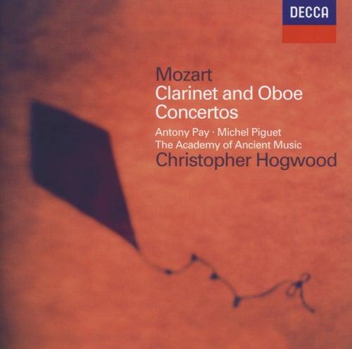 Mozart: Clarinet Concerto; Oboe Concerto von Antony Pay