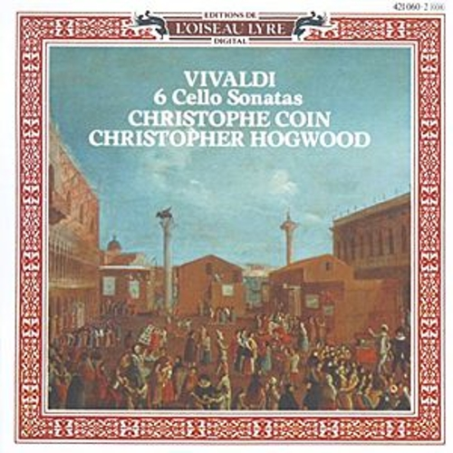 Vivaldi: 6 Cello Sonatas, Op.14 de Christophe Coin