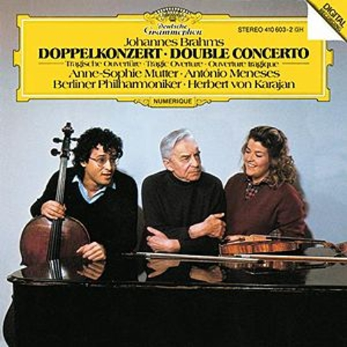 Brahms: Double Concerto In A Minor, Op. 102; Tragic Overture, Op. 81 de Anne-Sophie Mutter