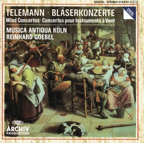Telemann: Wind Concertos de Musica Antiqua Köln