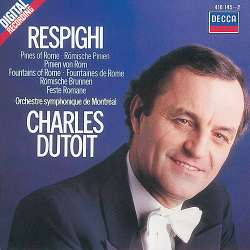 Respighi: Pines of Rome/Fountains of Rome/Roman Festivals von Orchestre Symphonique de Montréal