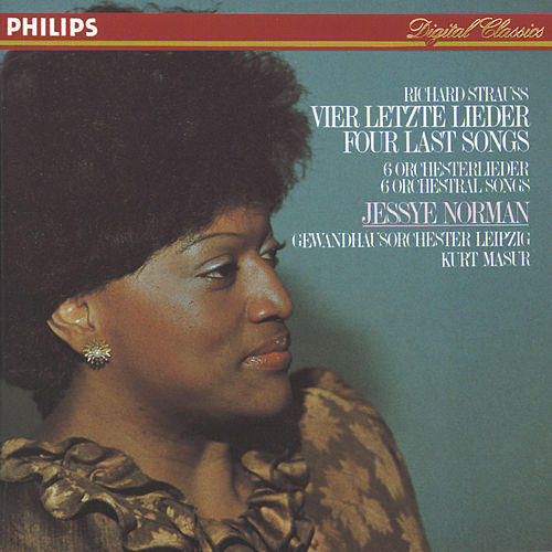 Richard Strauss: Four Last Songs; 6 Orchestral Songs di Jessye Norman