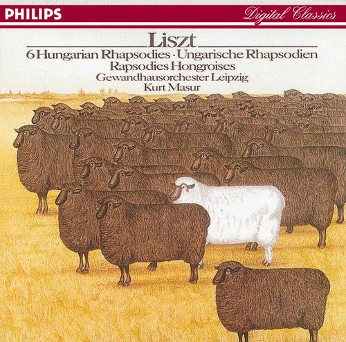 Liszt: Hungarian Rhapsodies von Gewandhausorchester Leipzig