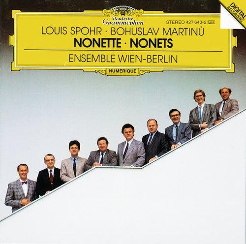 Spohr: Nonetto In F Major, Op. 31 / Martinu: Nonetto (1959) de Wolfgang Schulz
