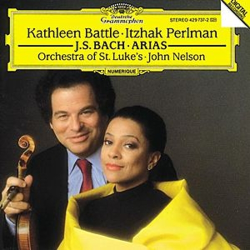 J.S. Bach: Arias for Soprano and Violin by Kathleen Battle