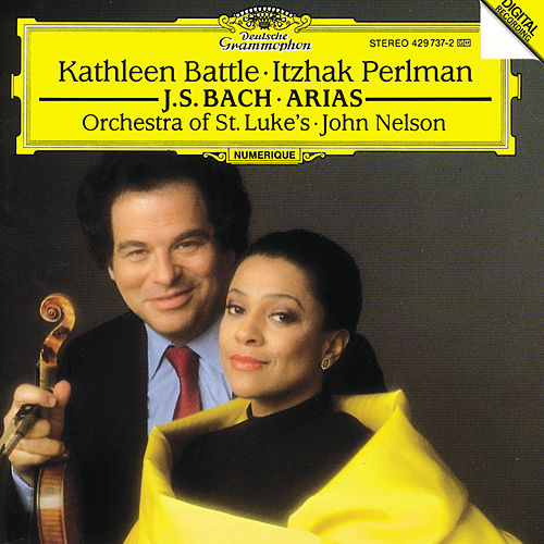 J.S. Bach: Arias for Soprano and Violin von Kathleen Battle