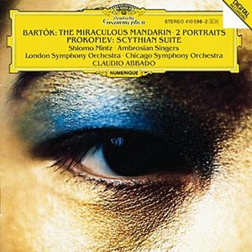 Bartók: The Miraculous Mandarin Op.19; Two Portraits Op.5 / Prokofiev: Scythian Suite Op. 20 de Shlomo Mintz