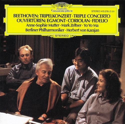 Beethoven: Triple Concerto; Overtures de Anne-Sophie Mutter