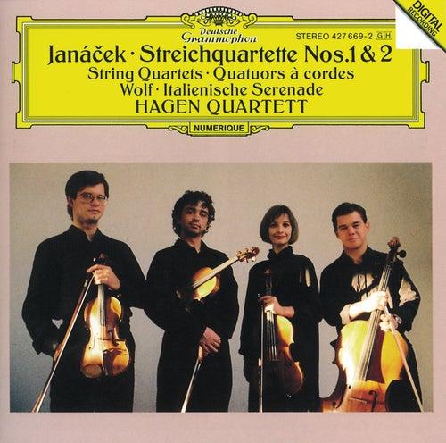 Janácek: String Quartets Nos.1 & 2 / Wolf: Italian Serenade by Hagen Quartett