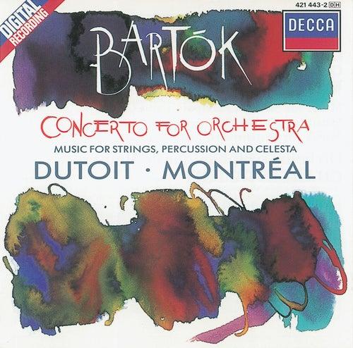 Bartók: Concerto for Orchestra/Music for Strings, Percussion & Celesta by Orchestre Symphonique de Montréal
