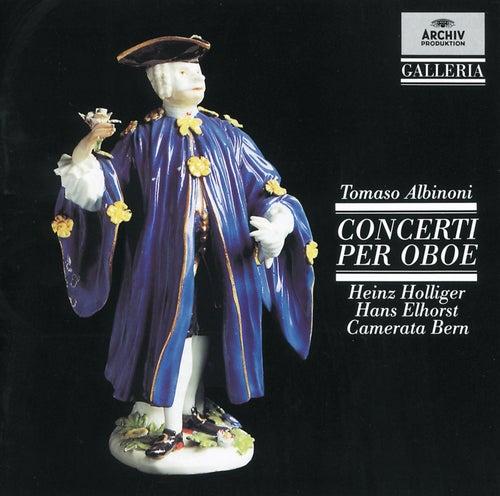 Albinoni: Oboe Concertos by Heinz, Holliger