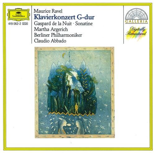 Ravel: Piano Concerto in G; Gaspard de la Nuit; Sonatine van Martha Argerich