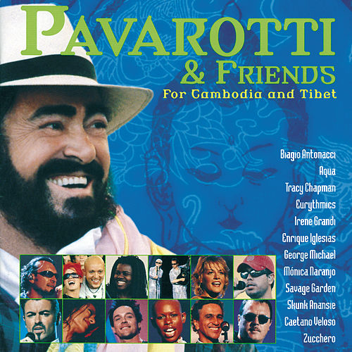 Pavarotti & Friends for Cambodia and Tibet de Luciano Pavarotti