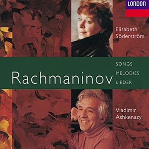 Rachmaninov: The Songs von Elisabeth Söderström