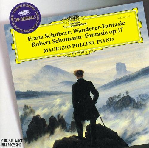 Schubert: 'Wanderer-Fantasie' / Schumann: Fantasie Op.17 von Maurizio Pollini