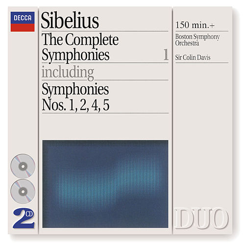 Sibelius: The Complete Symphonies, Vol.1 by Boston Symphony Orchestra