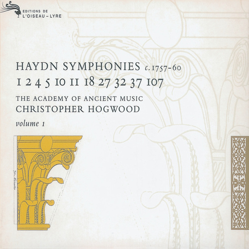Haydn: Symphonies Vol.1 de Academy Of Ancient Music (1)