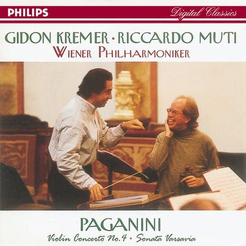 Paganini: Violin Concerto No.4/Suonata Varsavia de Gidon Kremer