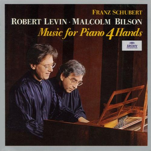 Schubert: Music For Piano 4 Hands von Malcolm Bilson