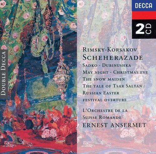Rimsky-Korsakov: Scheherazade, etc. von L'Orchestre de la Suisse Romande