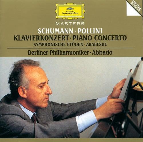Schumann: Piano Concerto; Symphonic Etudes von Maurizio Pollini
