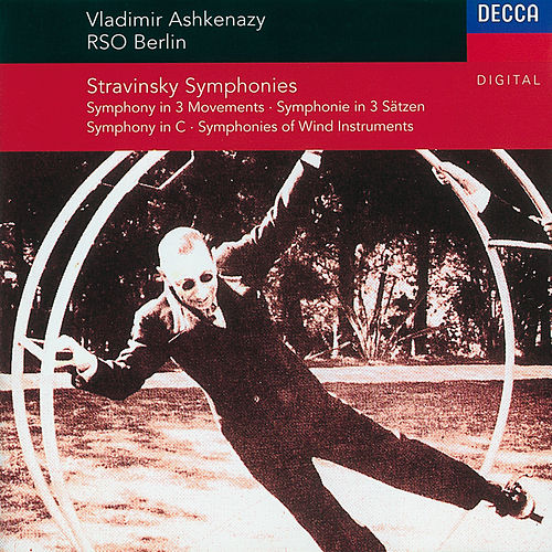 Stravinsky: Symphony in C/Symphony in 3 Movements/Symphonies of Winds von Radio-Symphonie-Orchester Berlin