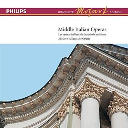 Mozart: Complete Edition Box 14: Middle Italian Operas von Various Artists