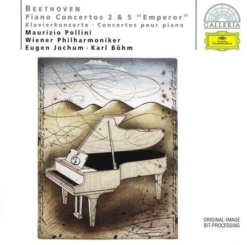 Beethoven: Piano Concertos Nos.2 & 5 'Emperor' von Maurizio Pollini