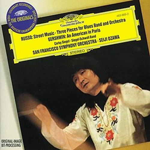 Russo: Street Music; Three Pieces / Gershwin: An American in Paris de San Francisco Symphony